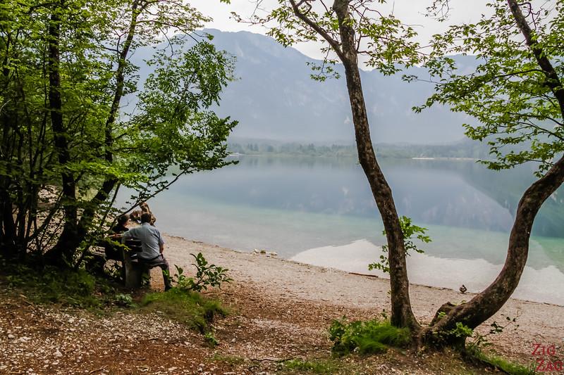 Tour of Lake Bohinj Slovenia