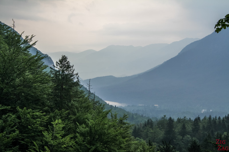 Savica walk - lake bohinj viewpoint 2
