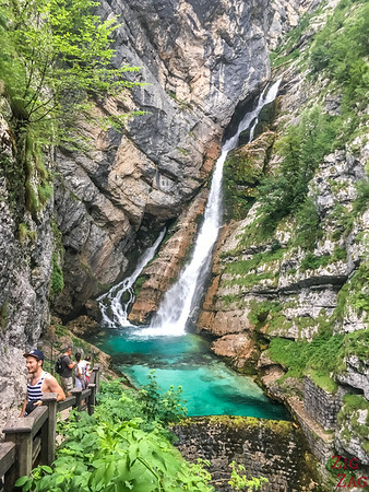 Savica Waterfall hike