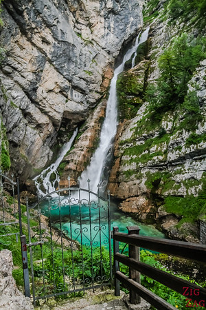 Savica Waterfall hike 2
