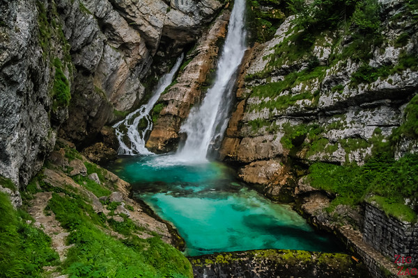 Slap Savica waterfall Bohinj