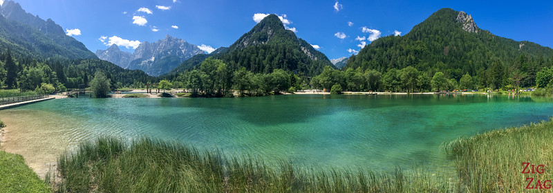 Best views in Slovenia - Lake Jasna