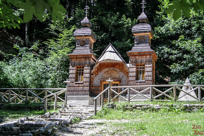 Russian Chapel Orthodox church - VRSIC Pass Road 2