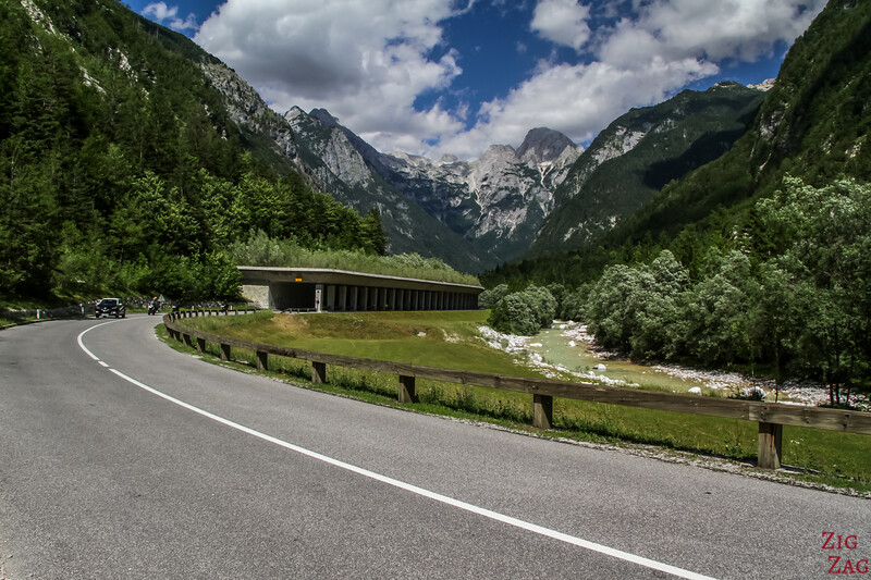 Most scenic road in Slovenia - Soca Valley