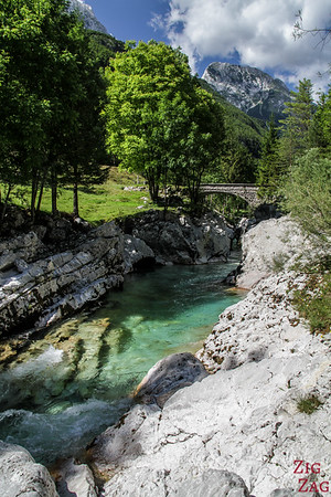 Lepena Valley Soca River Slovenia 2
