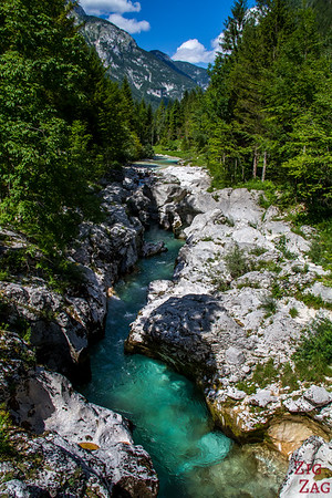 Lepena Valley Soca River Slovenia 1