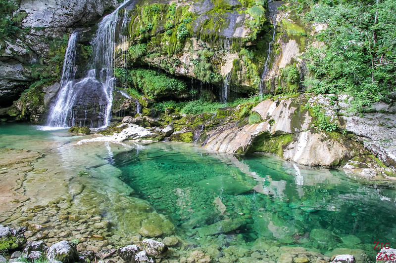 Slovenia Landscapes - Virje Waterfall