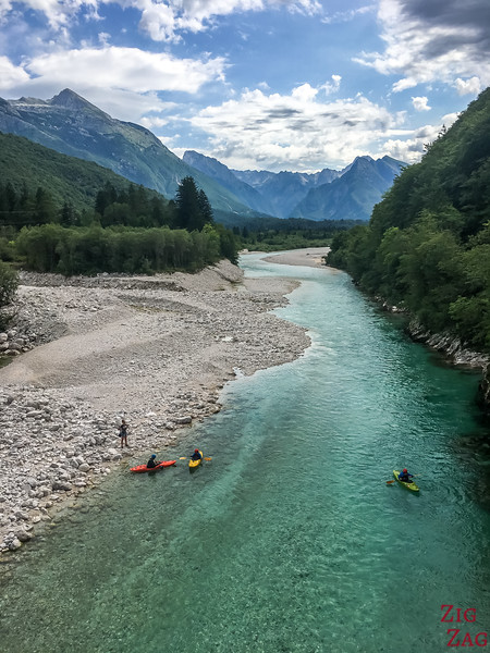 What to see in Slovenia - Soca River