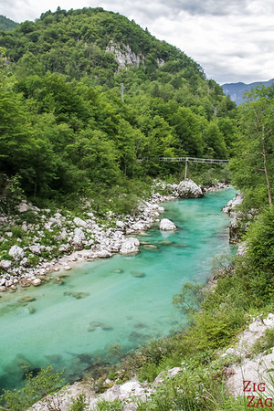 How to get to Slap Kozjak waterfall Slovenia
