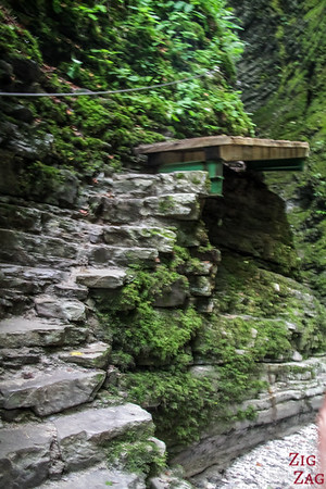 Slap Kozjak Waterfall access