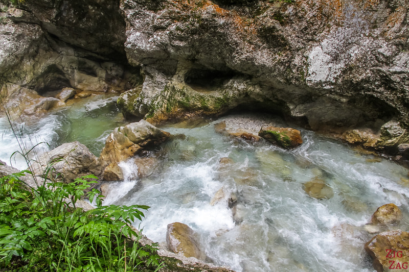 Rivière Gorges de Tolmin photo 3