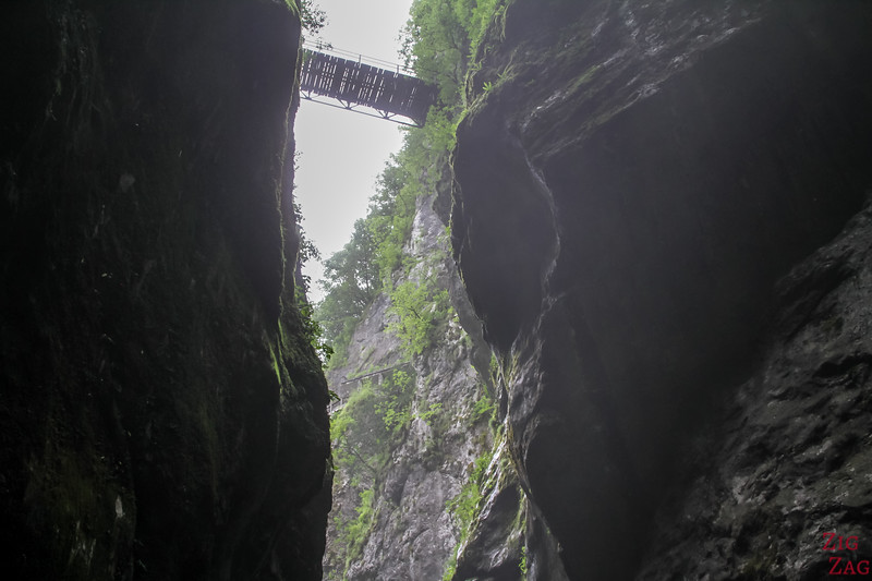 Pont Gorge de Tolmin  Devil's Bridge 1