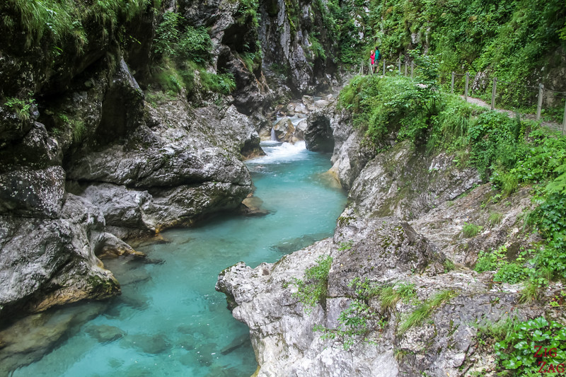 Valley of Soca - Tolmin Gorge