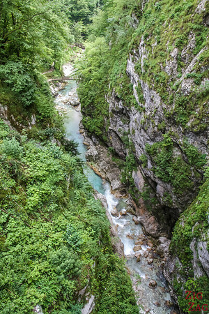 Pont Gorge de Tolmin Devil's Bridge 4
