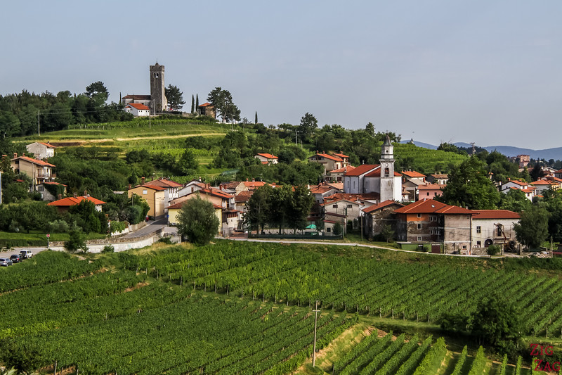Wine tourism in Brda region
