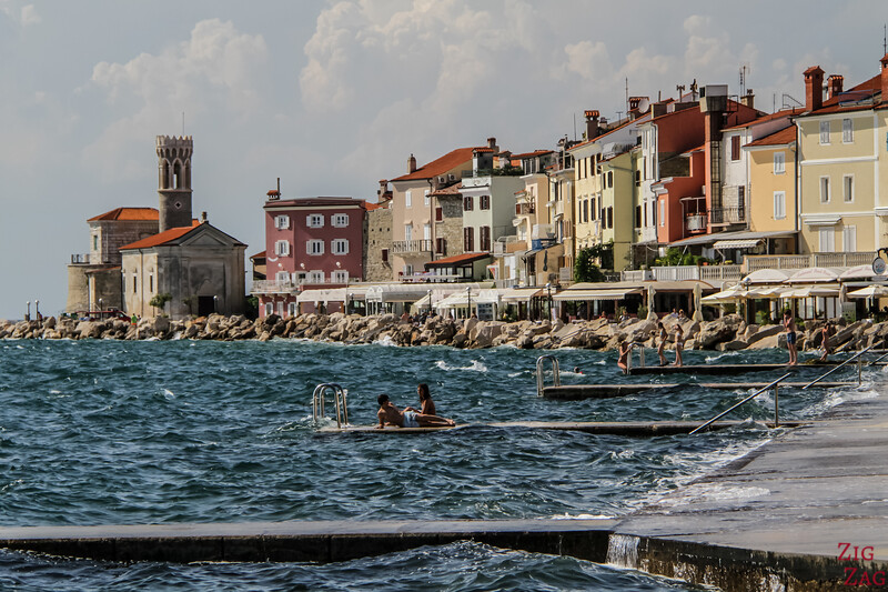 Town of Piran architecture