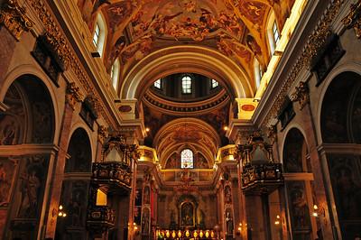 Saint Nicholas' Cathedral in Ljubljana