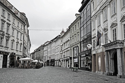 Old town of Ljubljana