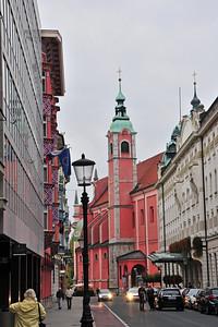 Rainy Ljubljana...