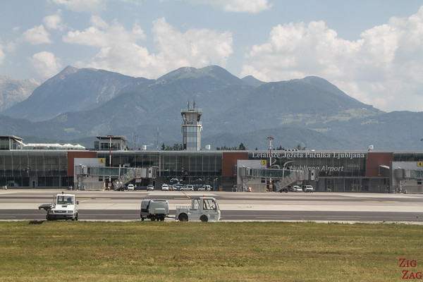 How to get to Slovenia airport
