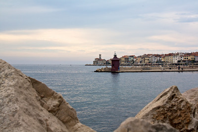 Piran, Slovenia, on the Adriatic Coast