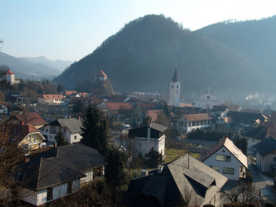 view over Kamnik