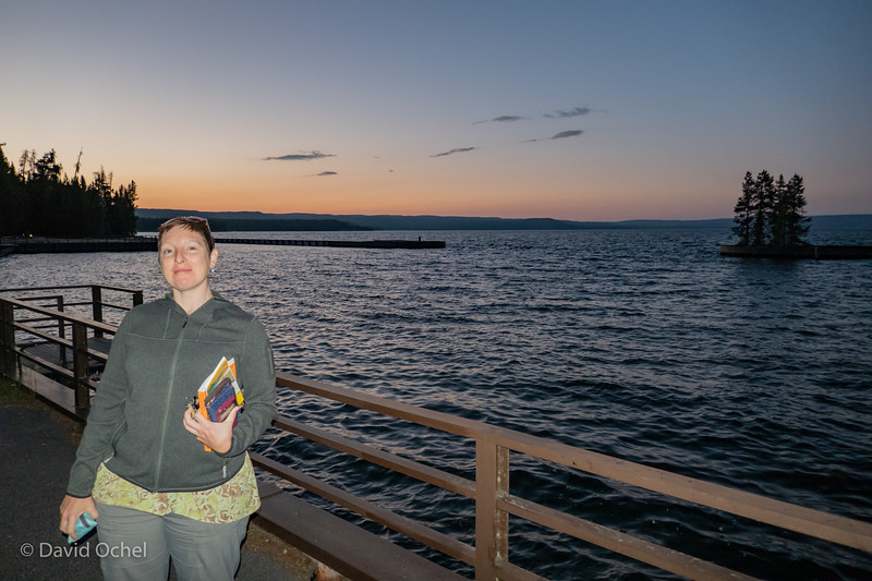 At the West Thumb of Yellowstone Lake