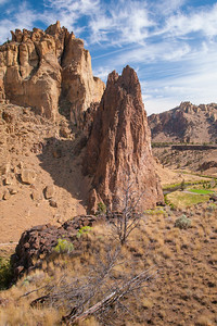 Smith Rock Canyon Trail View
