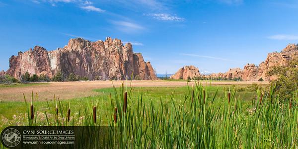 Smith Rock State Patk - Terrebonne, Oregon - Thursday, August 21, 2014 at 12:25 PM.