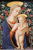 Madonna and Child c. 1470<br /> Follower of Fra Filippo Lippi<br /> tempera on panel