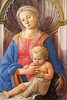 Madonna and Child c. 1440<br /> Fra Filippo Lippi <br /> tempera on panel