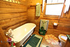 Big Tub in a Little Bathroom - Smoakhouse Ranch - Photo by Pat Bonish