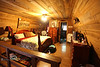 Master Bedroom Loft in the Earl Cabin at the Smaokhouse Ranch - Photo by Pat Bonish
