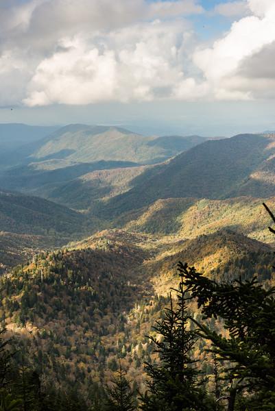 Smokey Mountain valleys