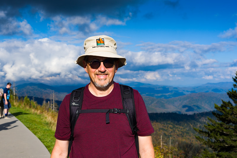 Portrait at Clingman's Dome