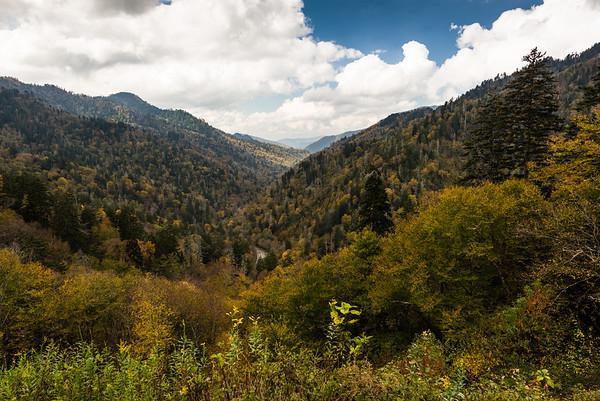 Smokey Mountain valley