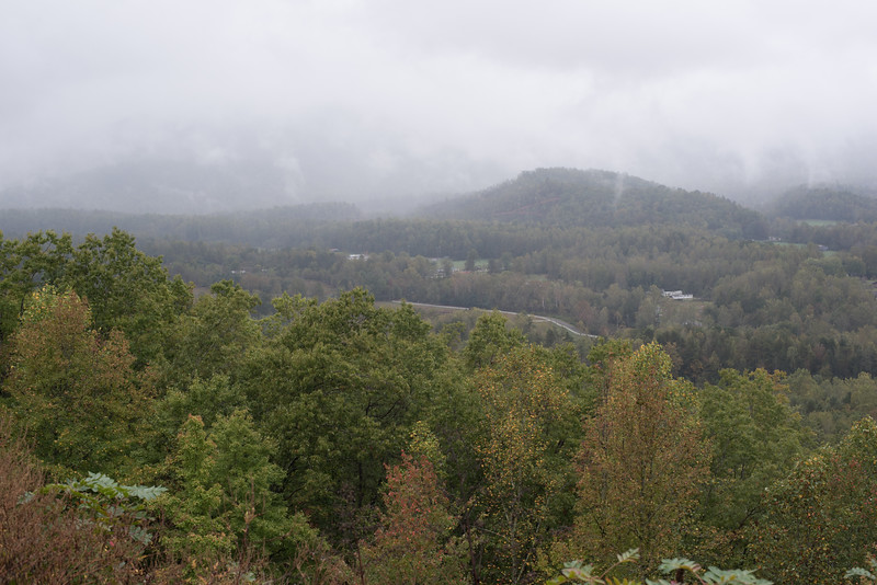 Foothills Parkway view