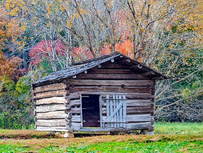 Cabin in fall...not a Four Seasons