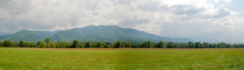 Panoramic View of Cades Cove