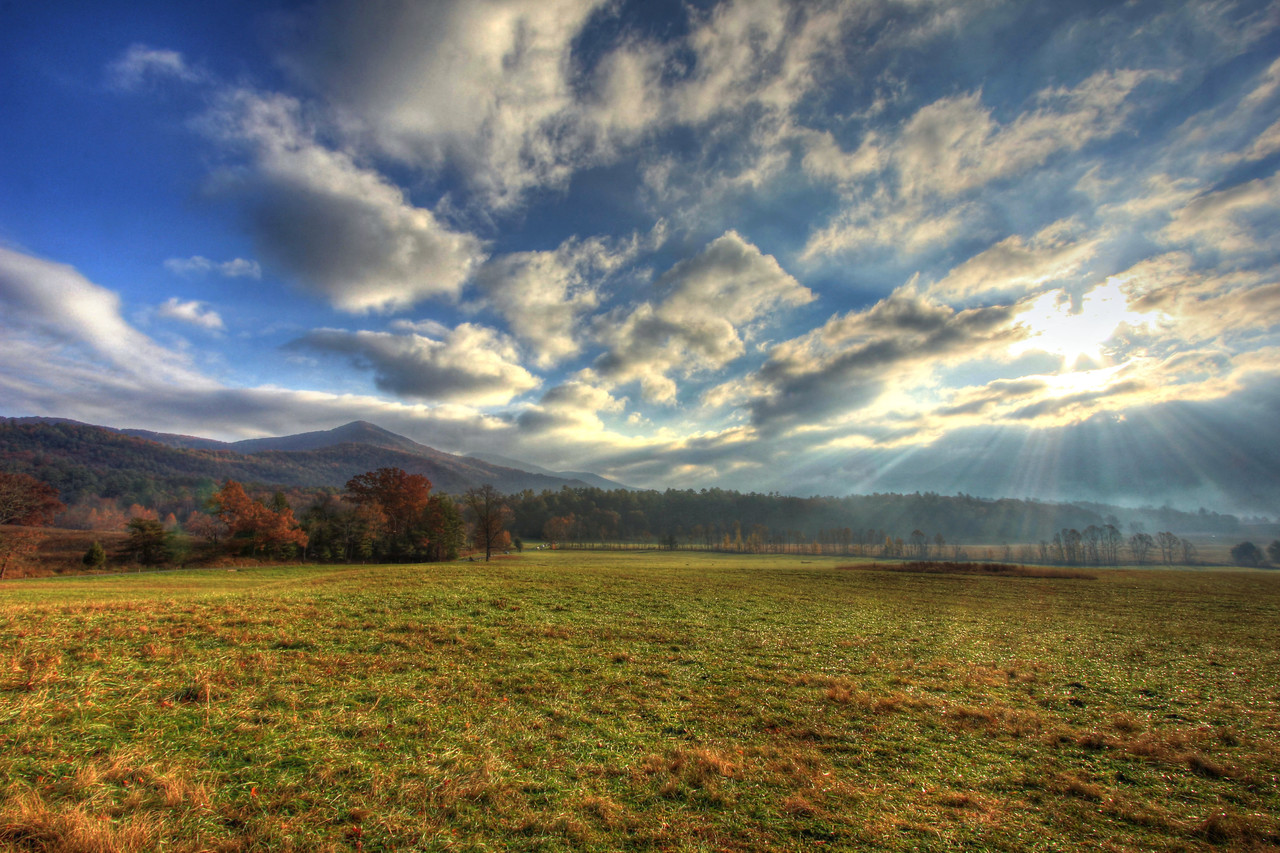 Cades Cove Morning Rays