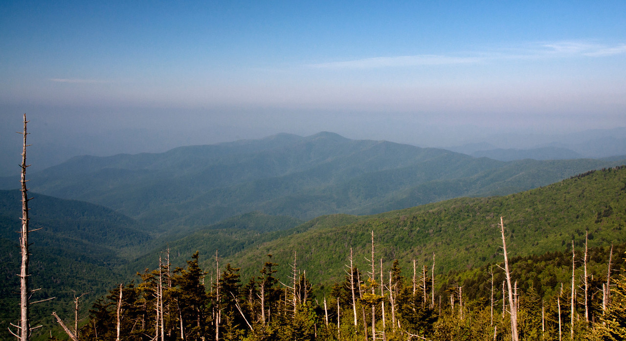 Clingman's Dome View<br /> <br /> Tennessee, May 2012