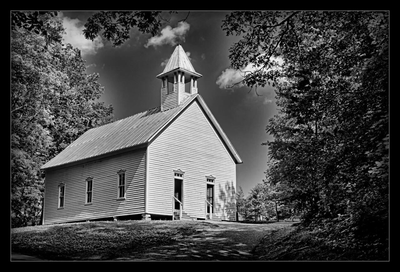 Church at Cades Cove<br /> <br /> May 2012