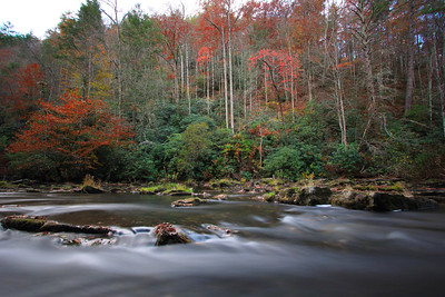 Abrams Creek in Autumn