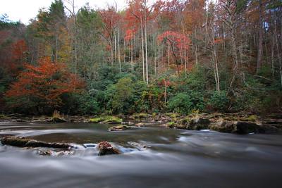 Abrams Creek in Autumn