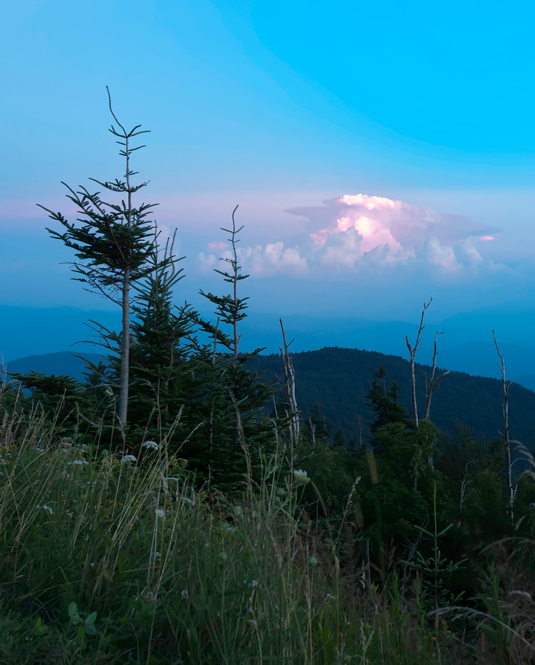 Thunderstorm at Clingmans Dome