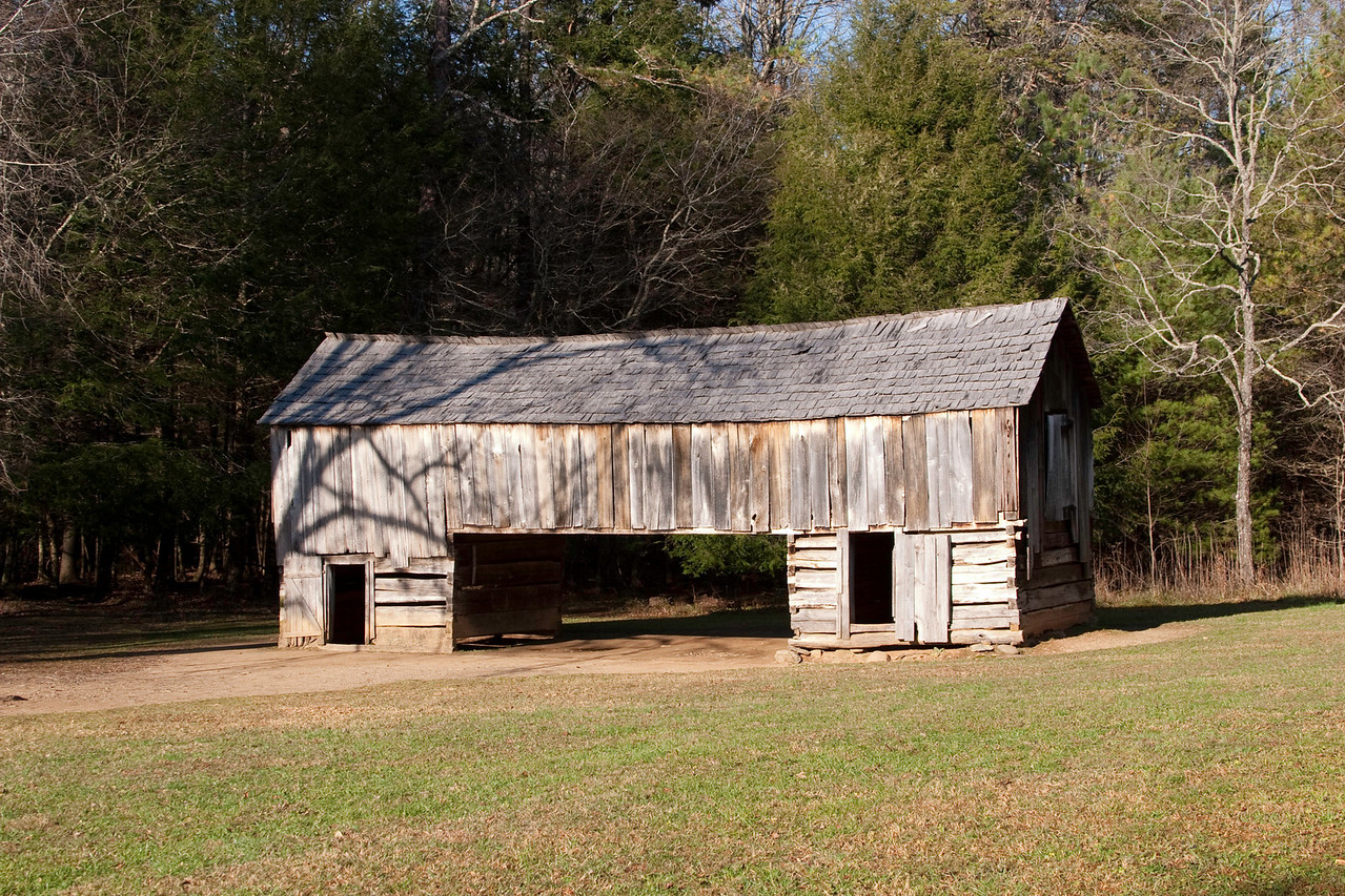 Barn, Cable Mill area, Cades Cove
