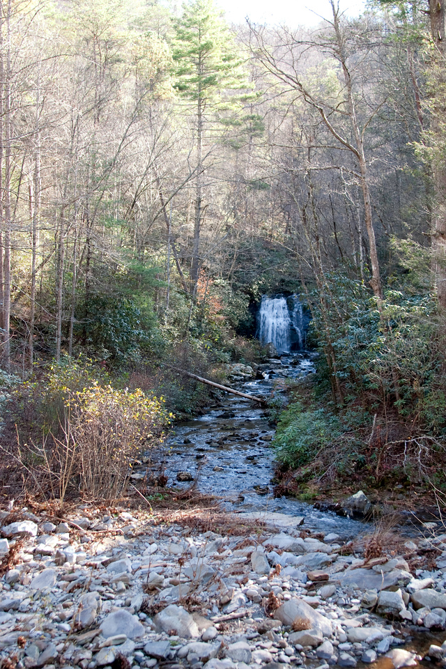 Waterfall between Cades Cove and Sugarlands