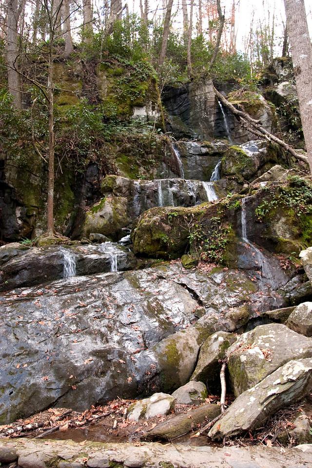 Waterfall, Roaring Fork Motor Nature Trail