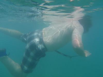 Thursday Snorkel at Waikiki Beach 10-13-11