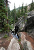 This is the Grottos, a unique rock wonderland near the headwaters of the Roaring Fork River on Independence Pass.